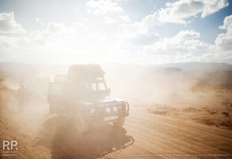 Zeiss 21mm Distagon on a Dusty Road in Africa
