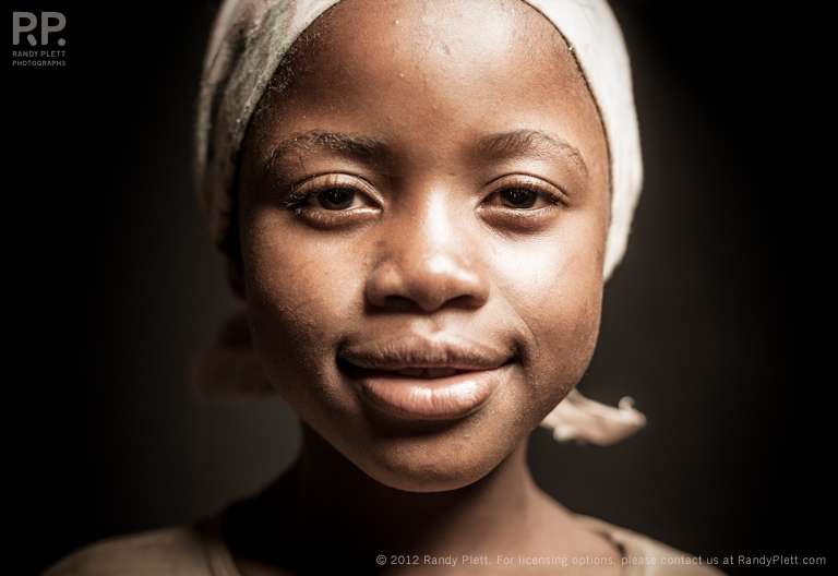 Portrait of an East African Girl