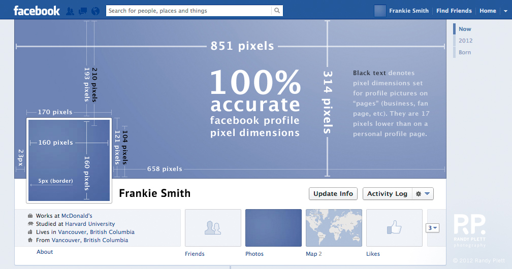 Facebook Banner Size in Pixels