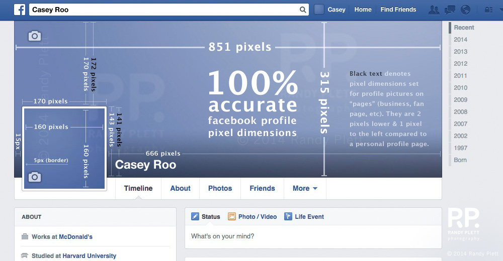 Facebook banner size updated 2014